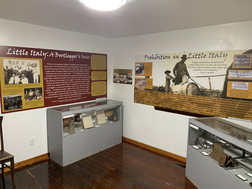 The new Little Italy Arkansas Heritage Museum tells the story of central Arkansas' Italian immigrant community -- a story that includes tales of Ellis Island and Prohibition. Arkansas Democrat-Gazette/Jennifer Nixon