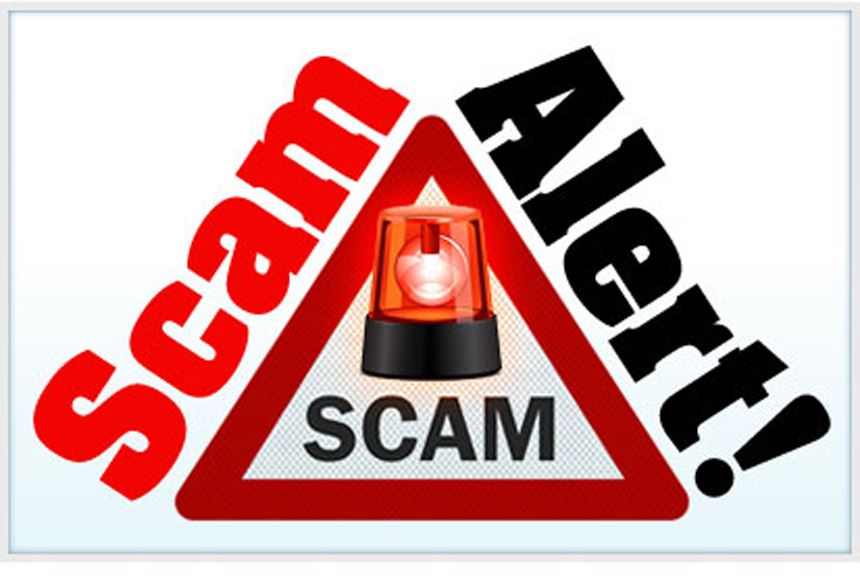 Local police give warning about scam