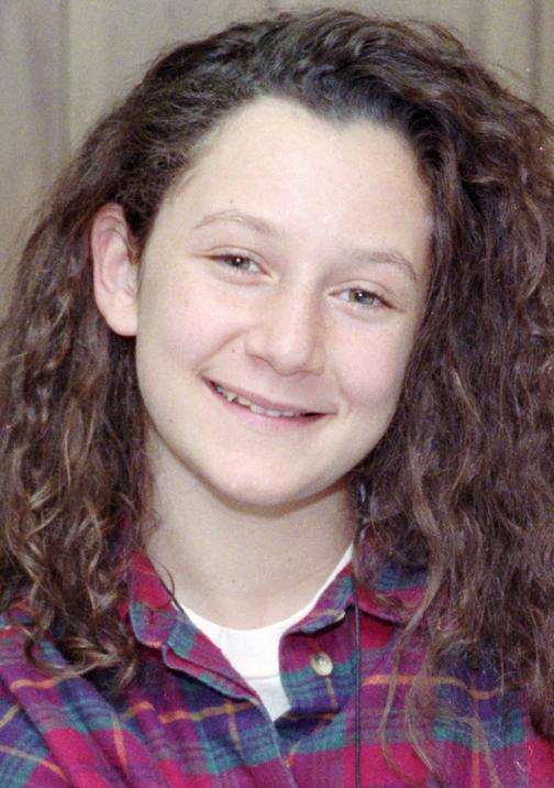 "Sara Gilbert as Darlene on ""Rosanne"" from 1990. (AP)"
