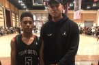 2023 guard Bryson Warren and NBA power forward Blake Griffin.