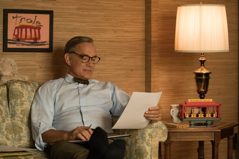 Film Review There S Only One Mr Rogers But Mr Hanks Is Next Door