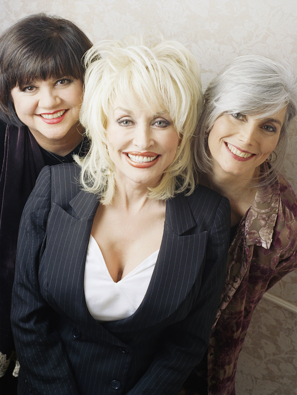 Linda Ronstadt (from left), Dolly Parton and Emmylou Harris recorded two acclaimed albums as Trio. (AP)