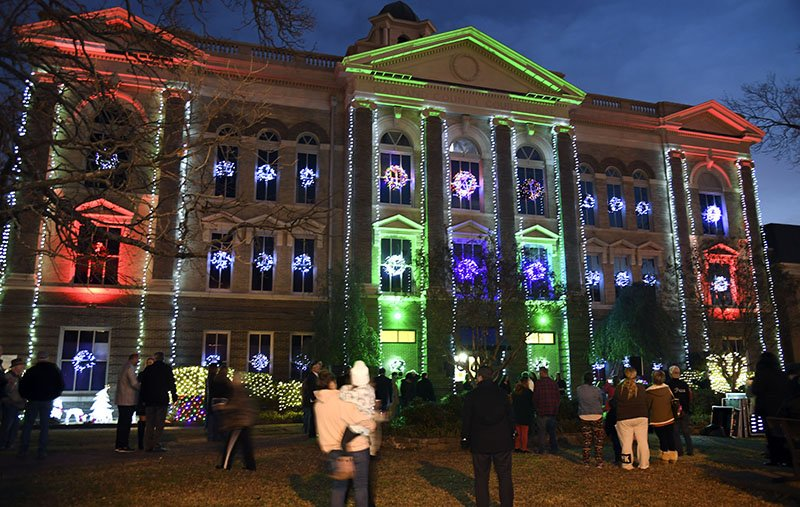 Video Annual Lighting Ceremony Spreads Christmas Cheer
