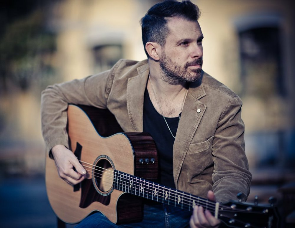 Guitarist Alberto Lombardi kicks off the Argenta Acoustic Music Series' 2020 season Jan. 16 at the Joint in North Little Rock's Argenta Arts District. Special to the Democrat-Gazette