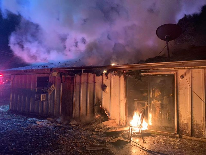 Photos Firefighters Respond To Rogers House Fire