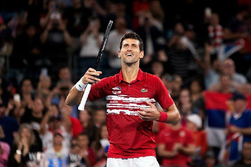 Djokovic Dominate As Serbia Claims Atp Title