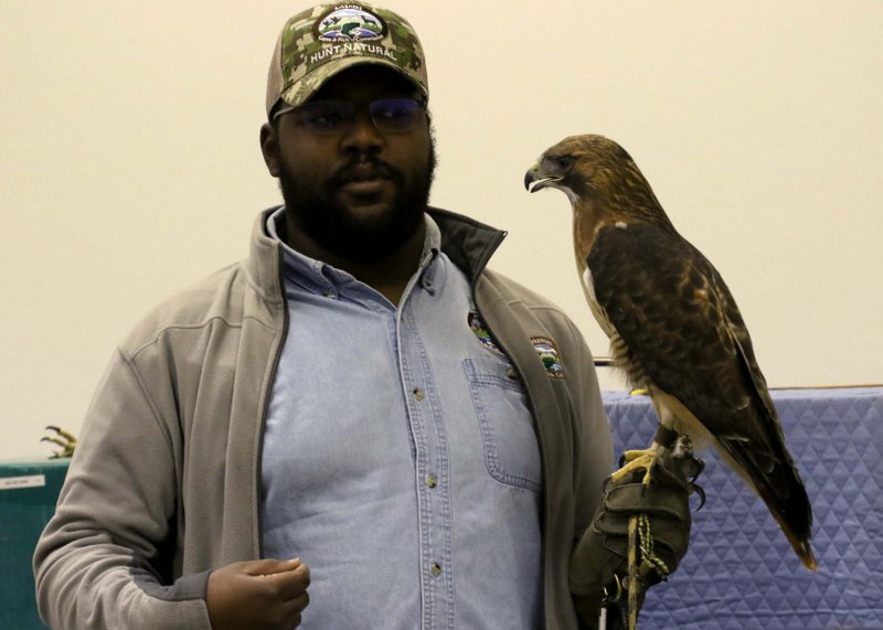 Community Learns About Birds Of Prey At Natural Resources Museum
