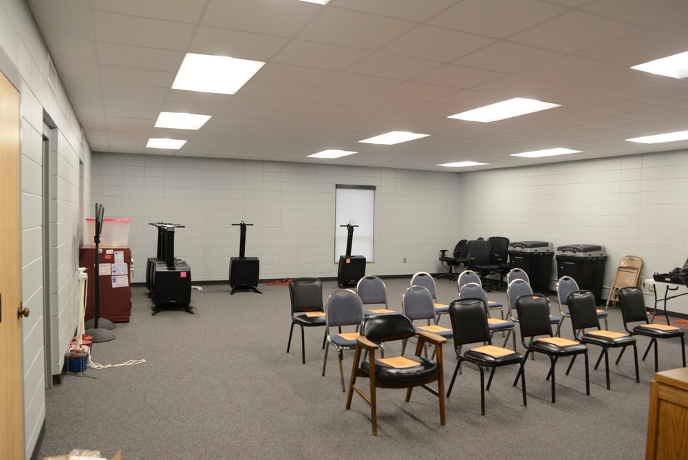 The new voting chambers at the Columbia County Annex.