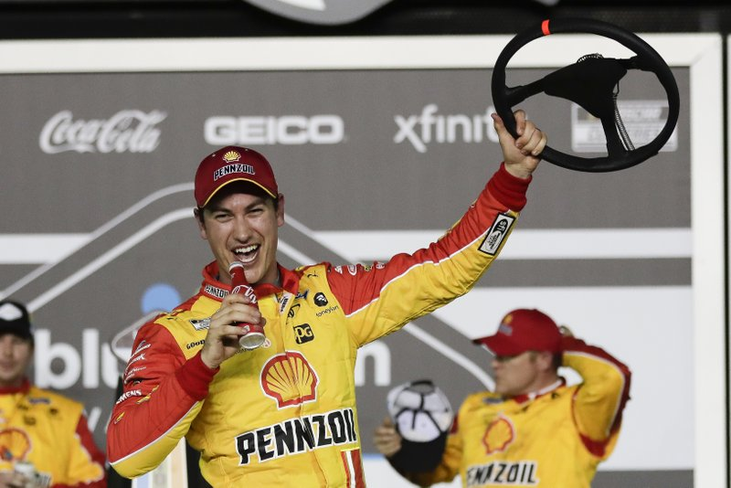 Logano Byron Win Daytona 500 Qualifying Races
