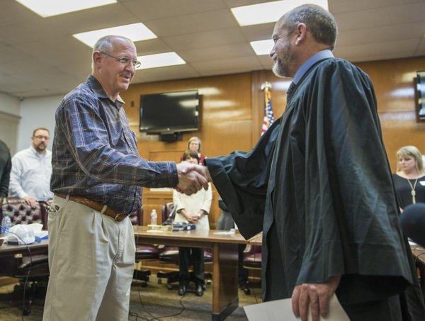 New County Judge Foster says he wants to focus on roads ...