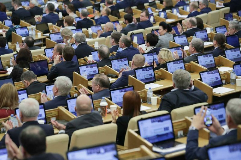 Putin S Term Count Reset Gains Lawmakers Assent