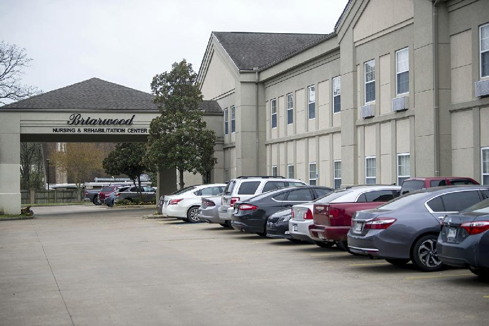 Briarwood Nursing and Rehabilitation in Little Rock is shown in this file photo.