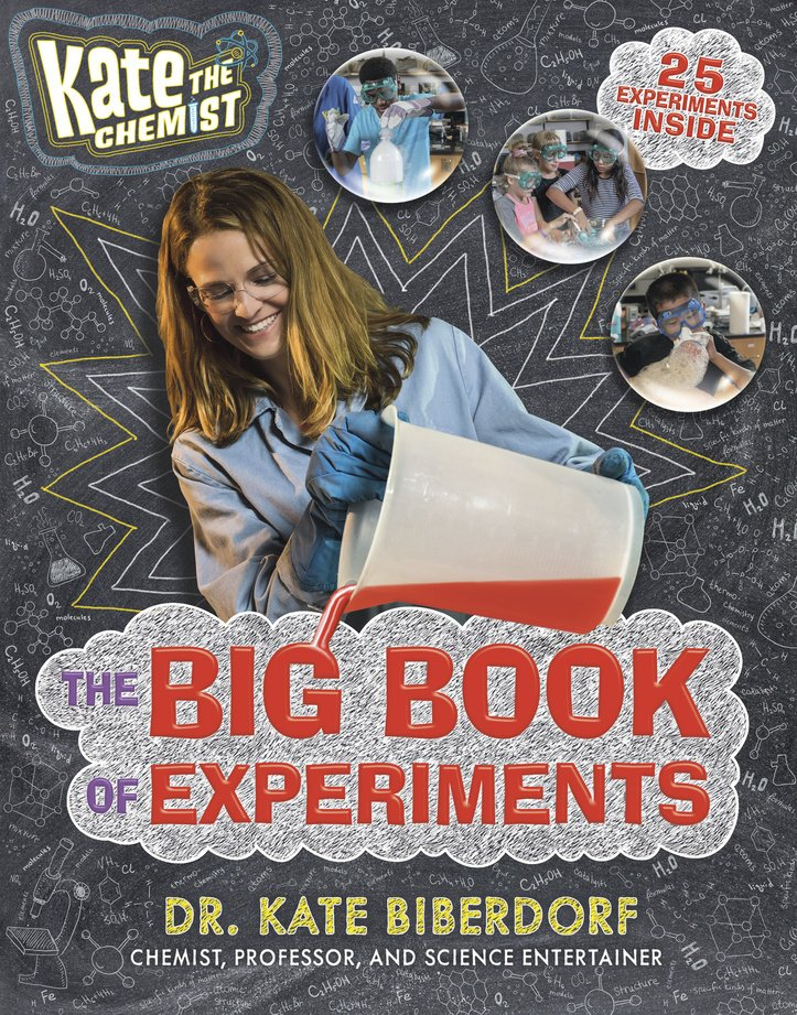 """Kate the Chemist: The Big Book of Experiments"" by Dr. Kate Biberdorf. (Philomel Books via AP)"