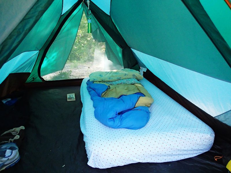 Tips keep tent camping cozy