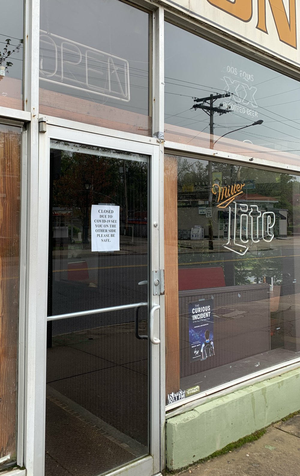 Canon Grill in Hillcrest is doing major structural repairs to its kitchen while it's closed.  (Arkansas Democrat-Gazette/Eric E. Harrison)