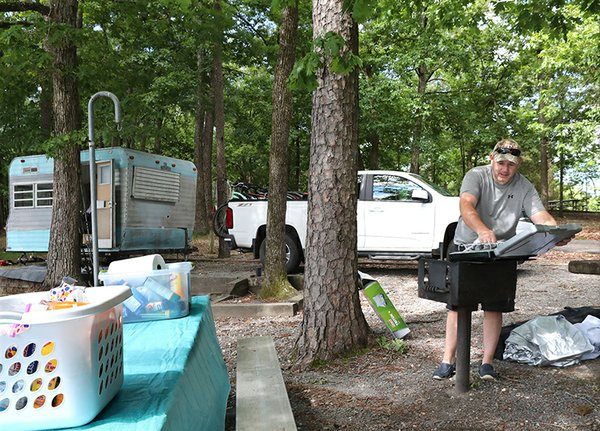 Corps campsites reopen at Lake Ouachita