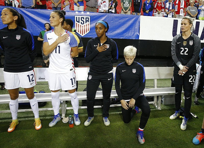 US Soccer Players No Longer Have to Stand During National Anthem