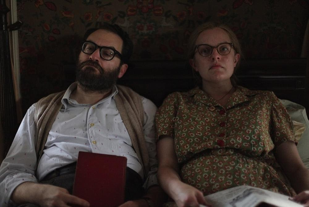 "Stanley Hyman (Michael Stuhlbarg) and Shirley Jackson (Elisabeth Moss) are a midcentury intellectual couple who booze and philander and fight and play a version of ""get the guests"" in Josephine Decker's visually stunning Shirley."