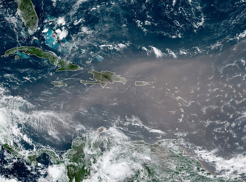 Massive 'Godzilla dust cloud' from the Sahara is headed for the US