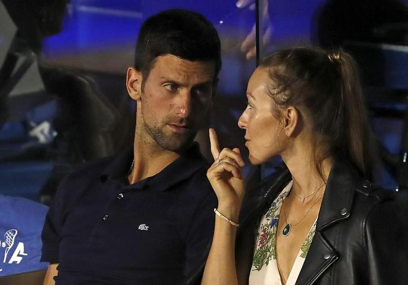 No 1 Djokovic Wife Test Positive For Virus