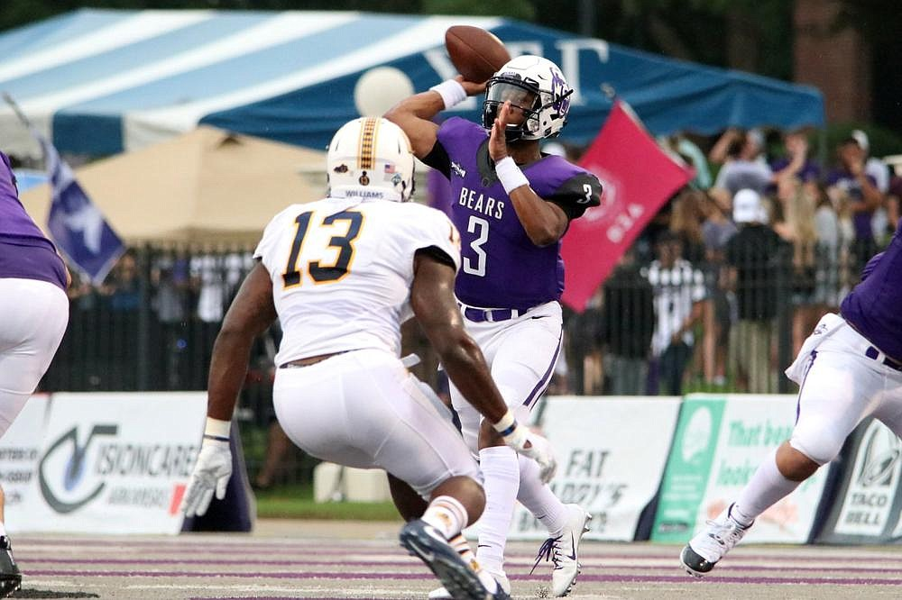 Quarterback Breylin Smith, who threw for a school single-season record 3,704 yards and 32 touchdowns last season, returns to lead a Central Arkansas team that will be ranked high in a slew of preseason top 25 polls.