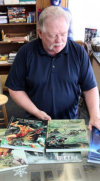 Michael Tierney is closing his two comic book stores in Central Arkansas after more than three decades in business.