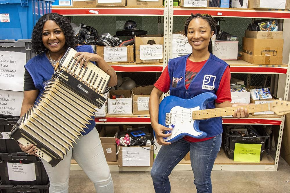 "Goodwill Industries of Arkansas never knows what items are going to be donated. As ""listers,"" it is the job of Courtney Piggee and Maliyah Reynolds to determine what the items are worth.