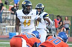 Defensive lineman Andy Boykin had 65 tackles, 9 tackles for loss, 5 sacks and 7 quarterback hurries as a high school senior last season, but Boykin said his first love as a child was basketball.