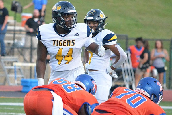 Defensive lineman Andy Boykin had 65 tackles, 9 tackles for loss, 5 sacks and 7 quarterback hurries as a high school senior last season, but Boykin said his first love as a child was basketball.(Photo courtesy of LaGrange Daily News)