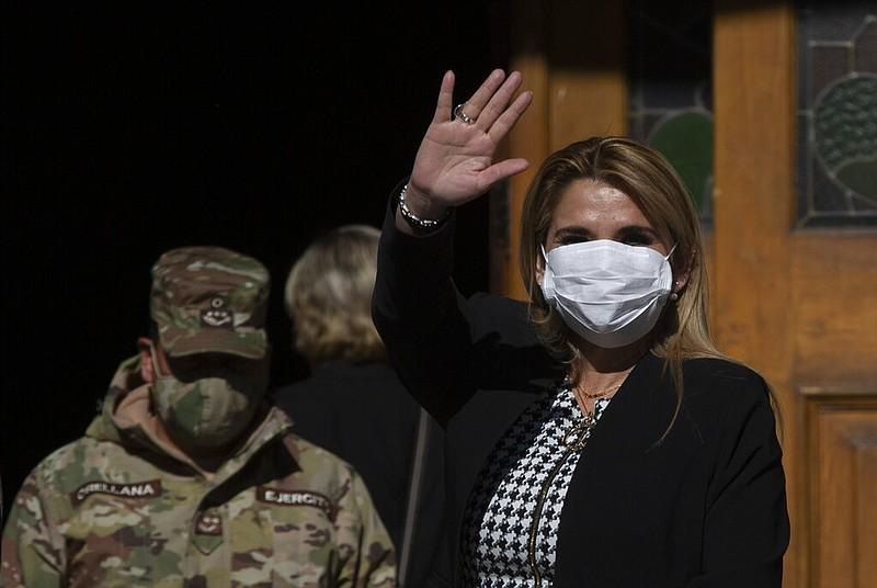 Bolivia's President Anez has tested positive for coronavirus
