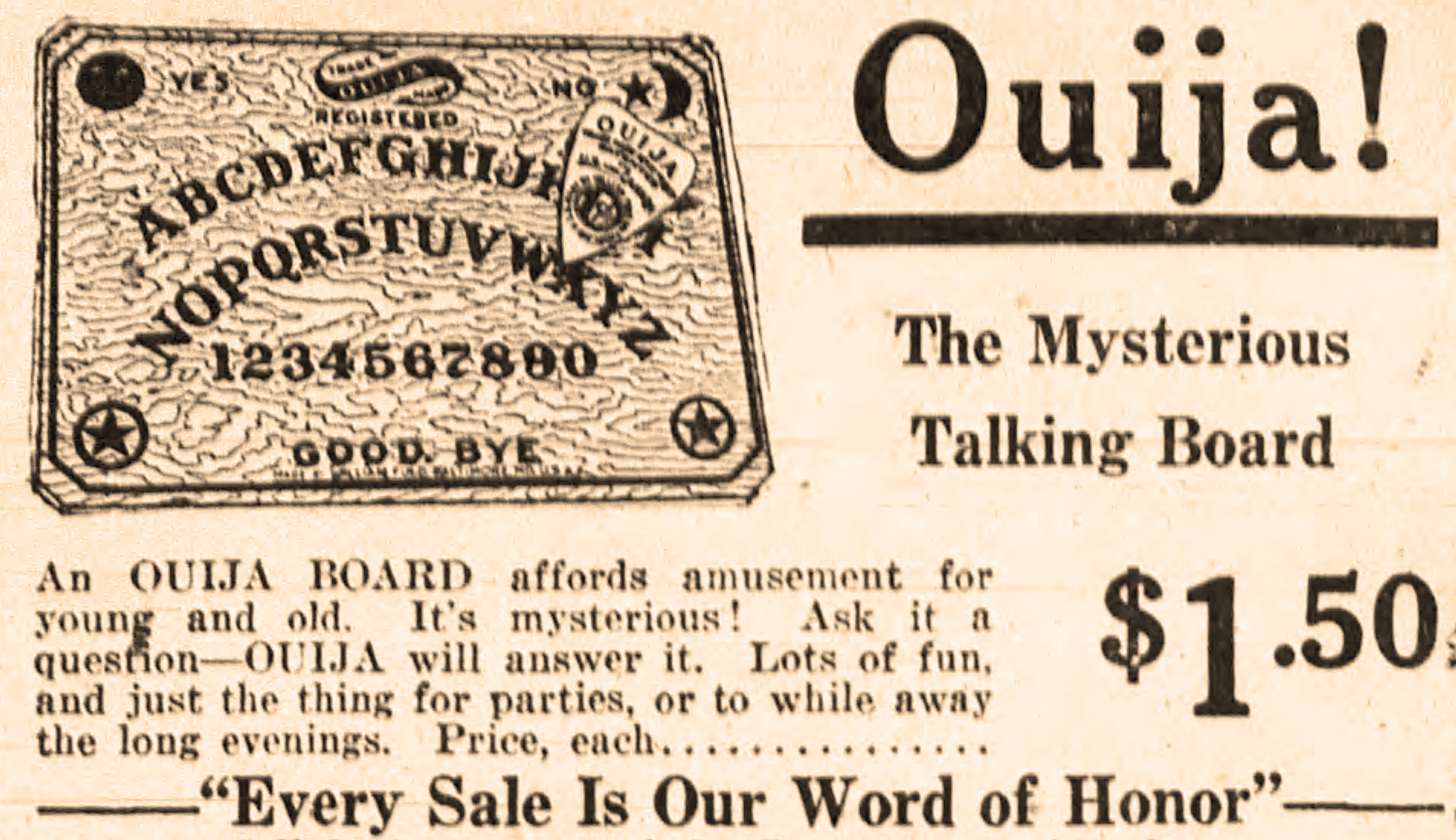 Old News Ouija Marks The Spot For Treasure Hunter