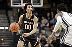 South Carolina guard A.J. Lawson plays against Vanderbilt in the second half of an NCAA college basketball game Saturday, March 7, 2020, in Nashville, Tenn. (AP Photo/Mark Humphrey)