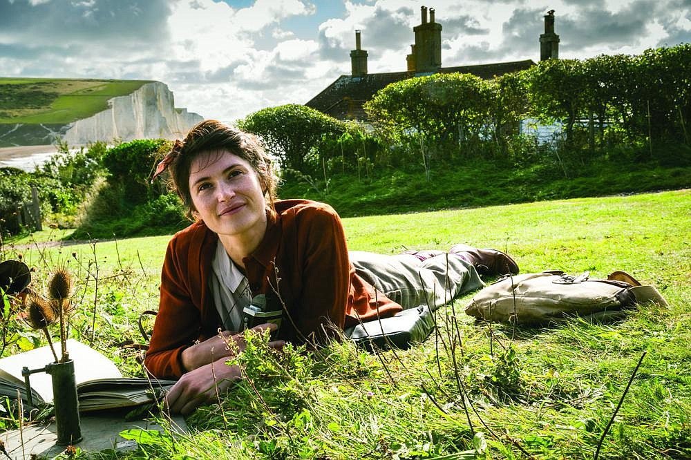 "Alice Lamb (Gemma Arterton) is a misfit writer producing ""academic theses"" in a quiet but anxious corner of England during World War II in ""Summerland."""
