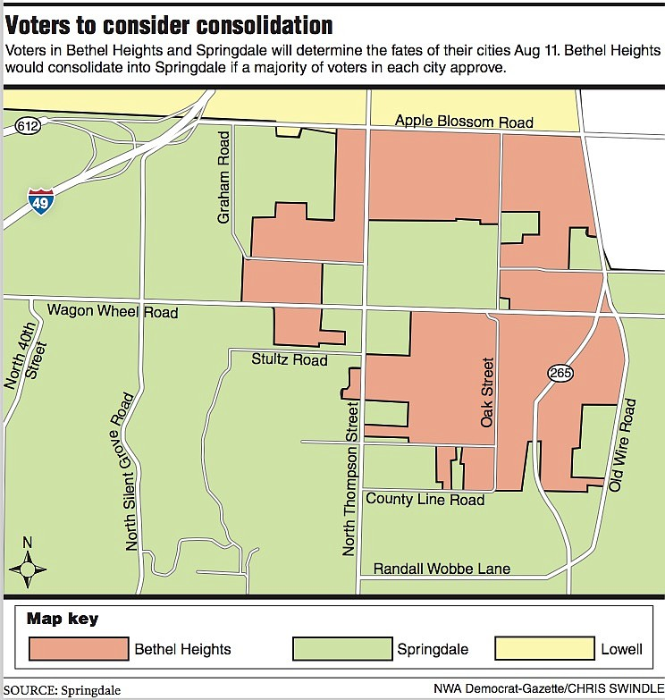 Voters to consider consolidation