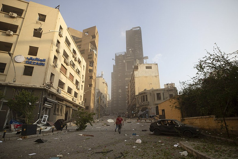 Huge explosions rock Beirut with widespread damage, injuries