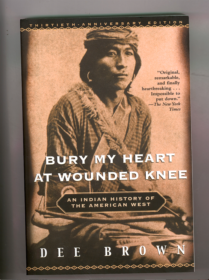 According to his friend Bill Jones, Dee Brown always disliked this cover image — the man depicted was from a tribe that was not present at Wounded Knee in 1892. Still, it's been used on many editions  of  the  book,  including  the  first  and  this  one,  the  30th  anniversary edition.  (Democrat-Gazette file photo)