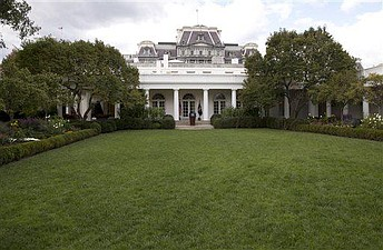 White House Rose Garden Before And After