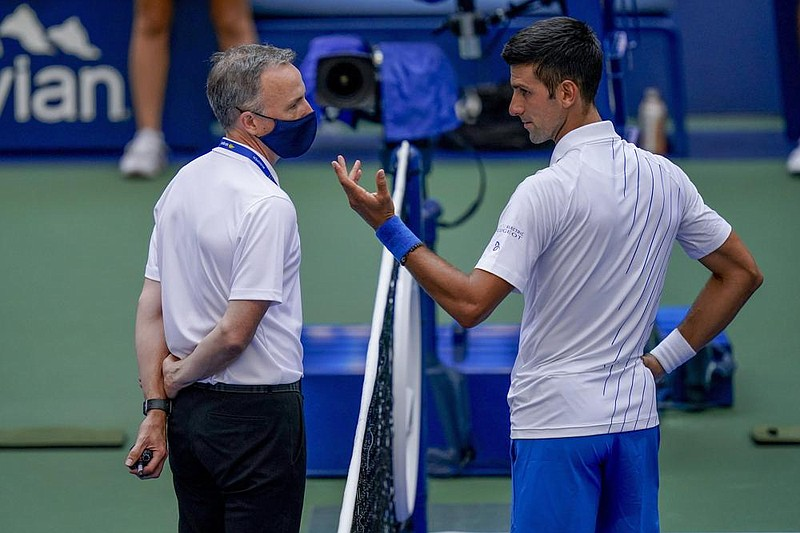 Djokovic Out After Ball Strike Of Judge