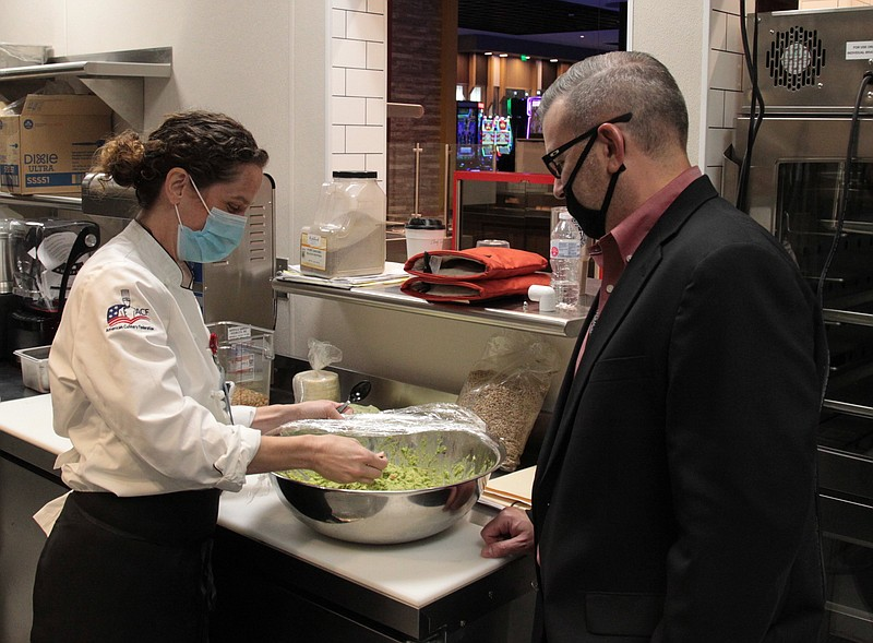 Little Rock Chef S Long Pedigree Leads To Directing Casino S Food