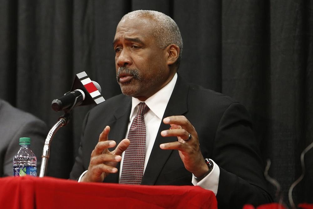 """Ohio State Athletic Director Gene Smith said the Big Ten's decision to play football this fall was the right one, despite its original call to do otherwise. """"We're in a better place, regardless of how we got here or how painful it was during the time we waited to get this moment,"""" he said. (AP file photo)"""
