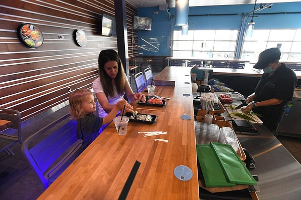 nwaonline.com - Sushi, craft beer bar chain opens 1st state site in Rogers Walmart