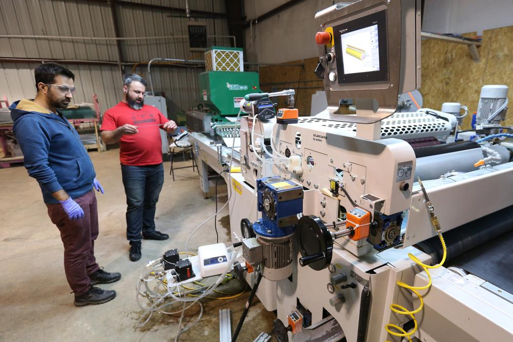 Fayetteville glass-coating firm in accelerator program