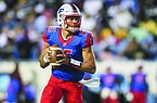 Landon Rogers of Little Rock Parkview leads the Patriots against Benton on Friday night in a matchup between the third- and fourth-ranked teams in Class 6A.