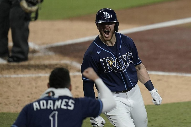 Brosseau's HR ends 12-year drought for Rays