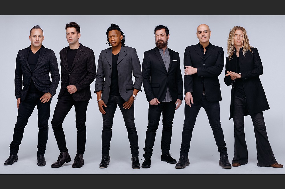 Christian rock group The Newsboys play the North Central Arkansas Amphitheater in Bald Knob at 7 p.m. Friday.