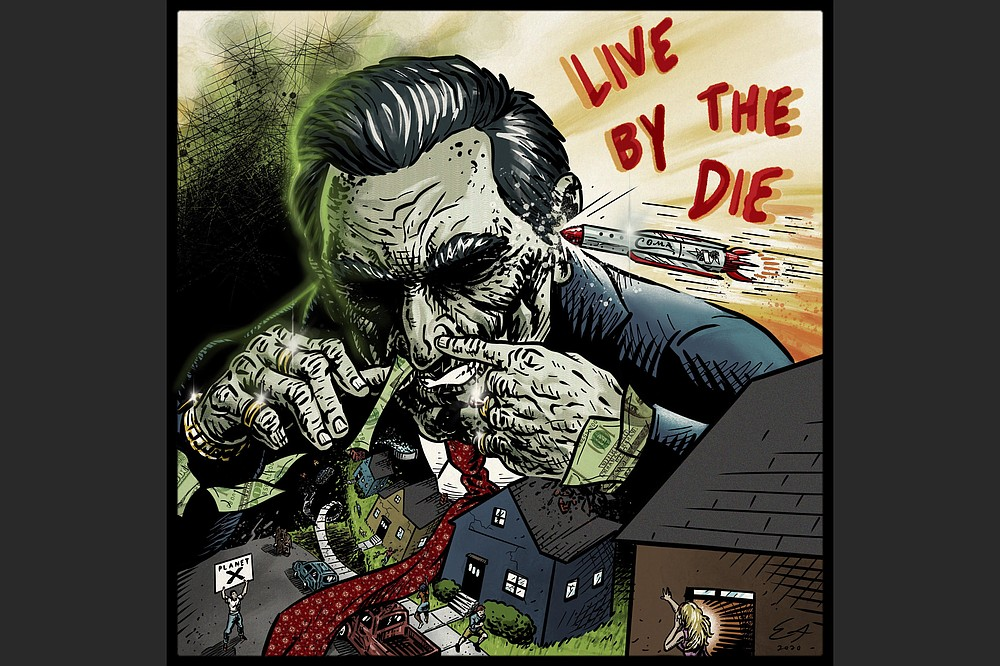 """Live by the Die"" from Fayetteville rockers Rocket Coma, was produced by Steve Albini and will be released Saturday."