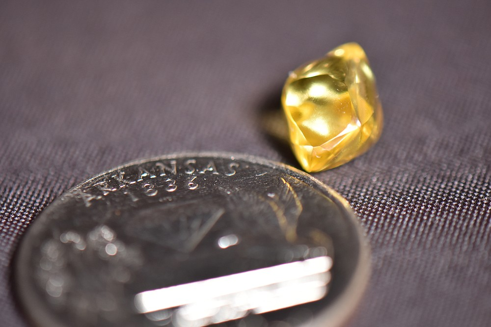 Steven McCool, 34, of Fayetteville found a 4.49-carat diamond on Saturday at Crater of Diamonds State Park, officials said.