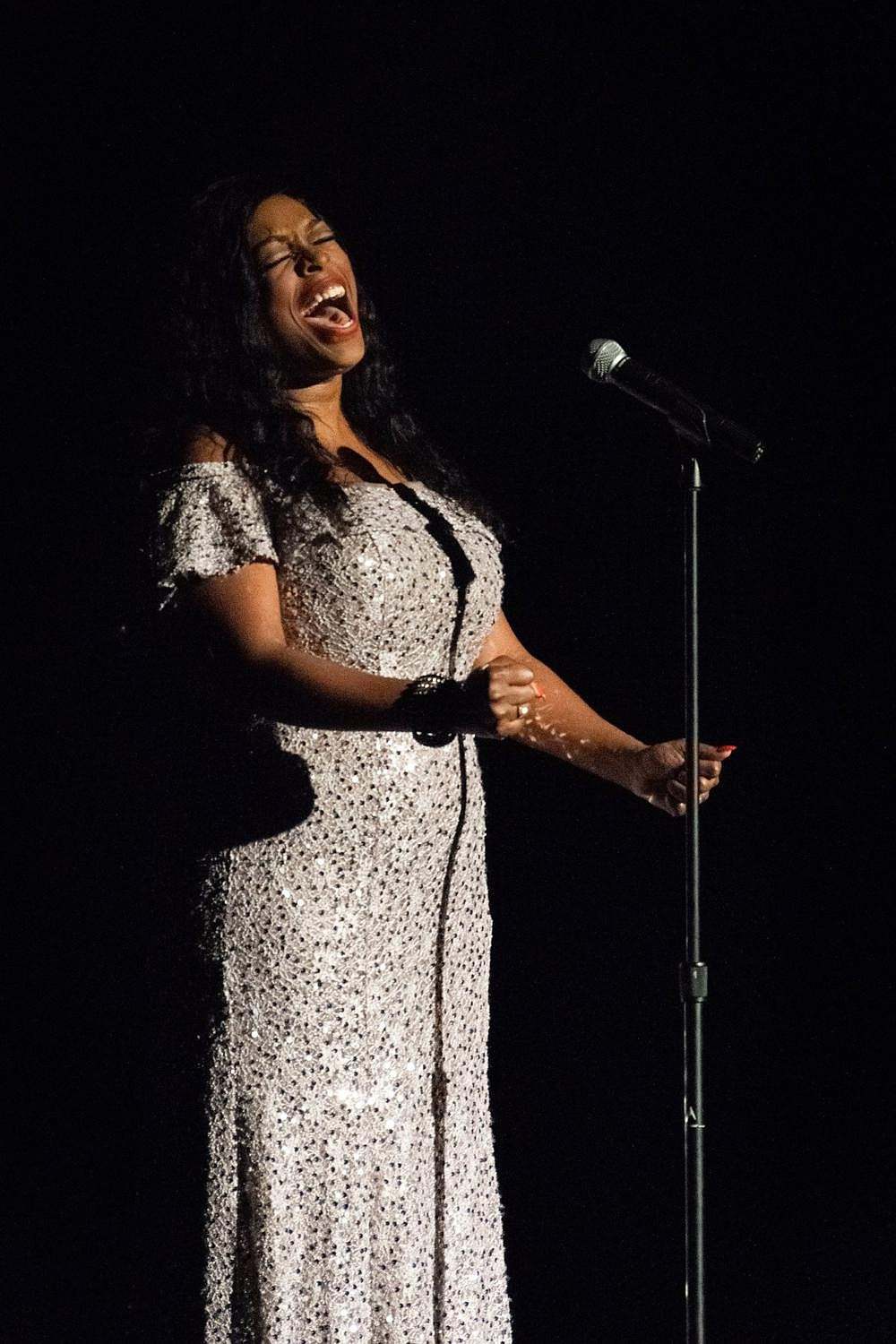 Angelica Glass performs during the Arts & Science Center's Razzle Dazzle in October 2019. Glass is one of the performers scheduled to appear during Heart for the Arts Telethon on Nov. 13-14.  (Special to The Commercial)