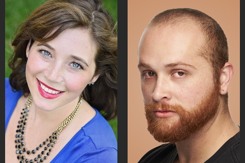 Soprano Tara Stafford Spyres and baritone Jonathan Patton will sing opera arias, art songs and popular tunes Sunday for an Opera in the Ozarks Alumni recital in Eureka Springs. (Special to the Democrat-Gazette)