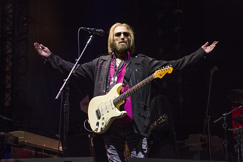 Tom Petty and the Heartbreakers performed in 2017 in San Diego. (AP)